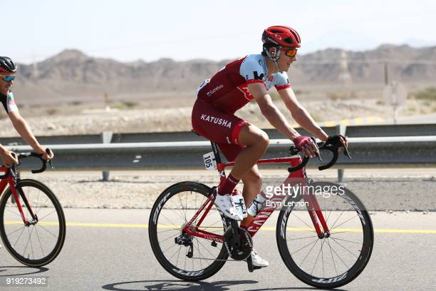 9th Tour of Oman 2018 / Stage 5 Viacheslav Kuznetsov of Russia / Samail Jabal Al AkhdharGreen Mountain 1235m / Oman Tour /