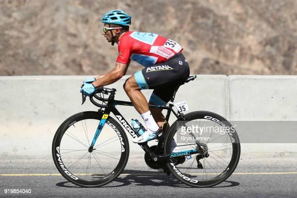 9th Tour of Oman 2018 / Stage 6 Alexey Lutsenko of Kazakhstan Red Leader Jersey / Al Mouj Muscat Matrah Corniche / Oman Tour /