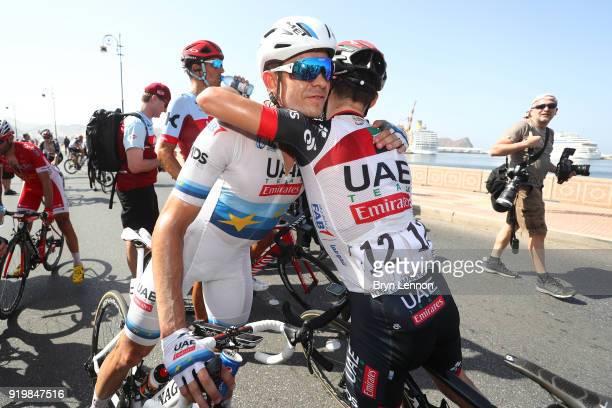 9th Tour of Oman 2018 / Stage 6 Arrival / Alexander Kristoff of Norway / Kristijan Durasek of Croatia / Celebration / Al Mouj Muscat Matrah Corniche...
