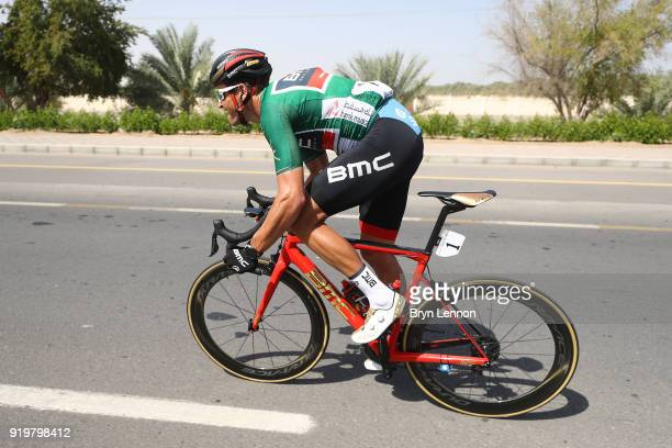 9th Tour of Oman 2018 / Stage 6 Greg Van Avermaet of Belgium Green Sprint Jersey / Al Mouj Muscat Matrah Corniche / Oman Tour /