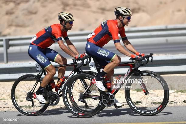 9th Tour of Oman 2018 / Stage 6 Luka Pibernik of Slovenia / Vincenzo Nibali of Italy / Al Mouj Muscat Matrah Corniche / Oman Tour /