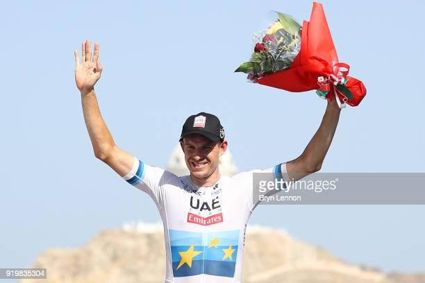 9th Tour of Oman 2018 / Stage 6 Podium / Alexander Kristoff of Norway / Celebration / Al Mouj Muscat Matrah Corniche / Oman Tour /