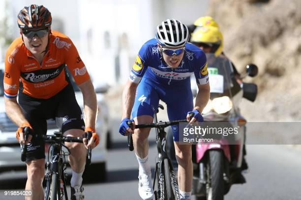 9th Tour of Oman 2018 / Stage 6 Remi Cavagna of France / Pim Ligthart of The Netherlands / Al Mouj Muscat Matrah Corniche / Oman Tour /