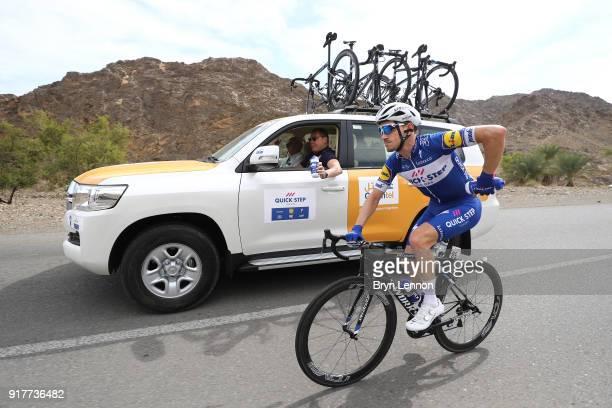 9th Tour of Oman 2018 / Stage1 Dries Devenyns of Belgium / Wilfried Peeters of Belgium / Sportsdirector for Team QuickStep Floors of Belgium /...