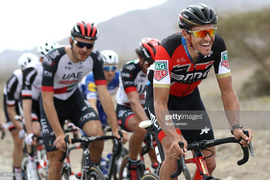 9th Tour of Oman 2018 / Stage1 Greg Van Avermaet of Belgium / Nizwa - Sultan Qaboos University (162.5km)/ Oman Tour /
