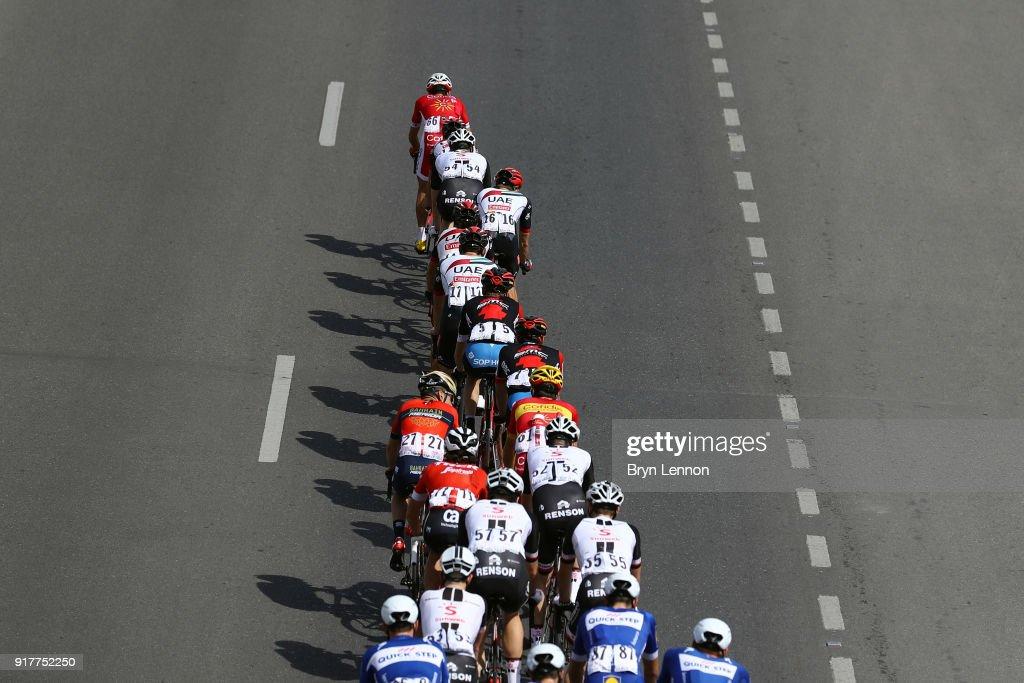 9th Tour of Oman 2018 / Stage1 Illustration / Peloton / Shadow / Nizwa - Sultan Qaboos University (162.5km)/ Oman Tour /