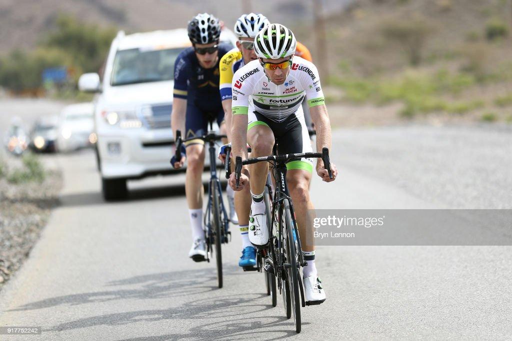 9th Tour of Oman 2018 / Stage1 Pierre-Luc Perichon of France / Nizwa - Sultan Qaboos University (162.5km)/ Oman Tour /