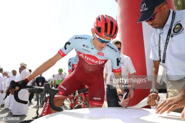 9th Tour of Oman 2018 / Stage1 Start / Nils Politt of Germany / Signature / Nizwa Sultan Qaboos University / Oman Tour /
