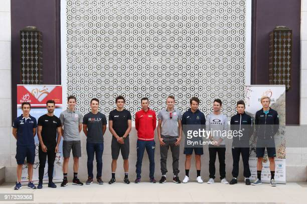 9th Tour of Oman 2018 / Top Riders Press Conference Bryan Coquard of France / Nacer Bouhanni of France / Rui Faria Da Costa of Portugal / Robin...