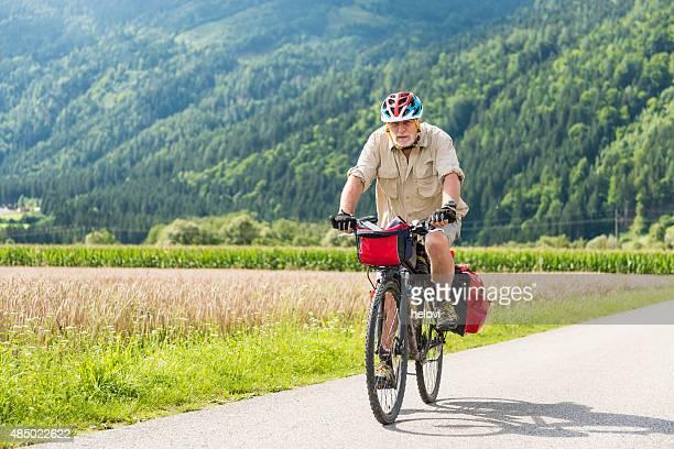 Fahrradfahren entlang Drau Cycling Route