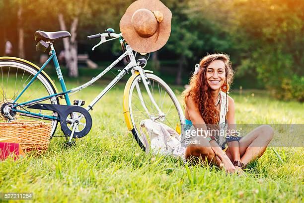 Vélo et de la nature