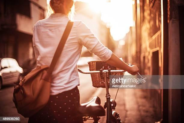 Radfahren durch
