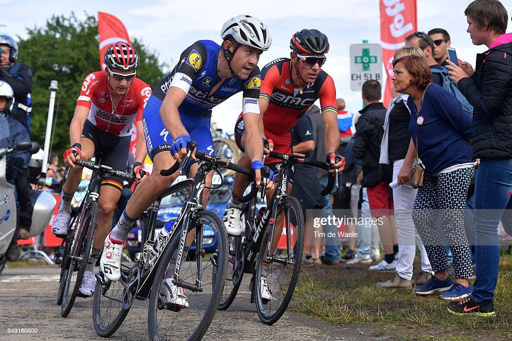 Belgian Road Championship 2016 / Elite Men Laurens DE PLUS (BEL) / Tim WELLENS (BEL) / Philippe GILBERT (BEL) / Lacs de l'Eau d'Heure Lire - Lacs de l'Eau d'Heure Lire (231km) /