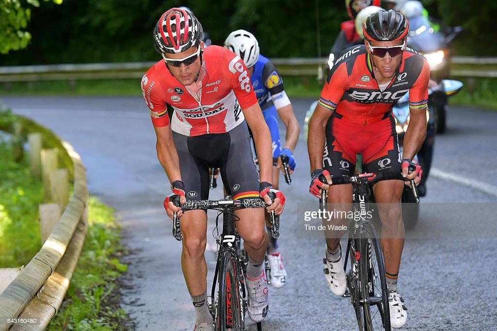 Belgian Road Championship 2016 / Elite Men Tim WELLENS (BEL) / Philippe GILBERT (BEL) / Lacs de l'Eau d'Heure Lire - Lacs de l'Eau d'Heure Lire (231km) /