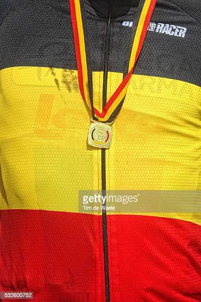 Belgian Road Championship Elite 2011 Illustration Illustratie / Podium / Jersey Maillot Trui / Philippe GILBERT / Hooglede - Gits - Hooglede - Gits /...