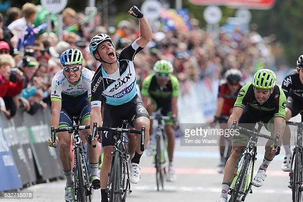Cadel Evans Great Ocean Road Race 2015 Arrival/ Gianni MEERSMAN Celebration Joie Vreugde/ Simon CLARKE / Nathan HAAS Luke ROWE / GeelongGeelong / Tim...