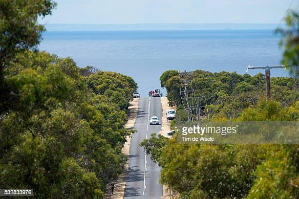 Cadel Evans Great Ocean Road Race 2016 Illustration Illustratie / Landscape Paysage Landschap / Sea Mer/ Ocean/ Alessandro DE MARCHI / Josh BERRY /...