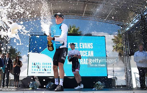 Cadel Evans Great Ocean Road Race 2016 Podium / Peter KENNAUGH Celebration Joie Vreugde / Champagne/ GeelongGeelong / Cadels Great Ocean Road Race/...