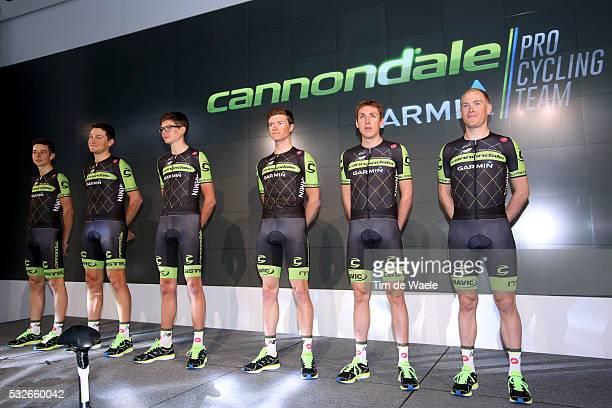 Cannondale Garmin Pro Cycling Team 2015 Team Presentation Davide FORMOLO / Ted KING / Joe DOMBROWSKI / Ben KING / Daniel Martin /Andrew TALANSKY /...