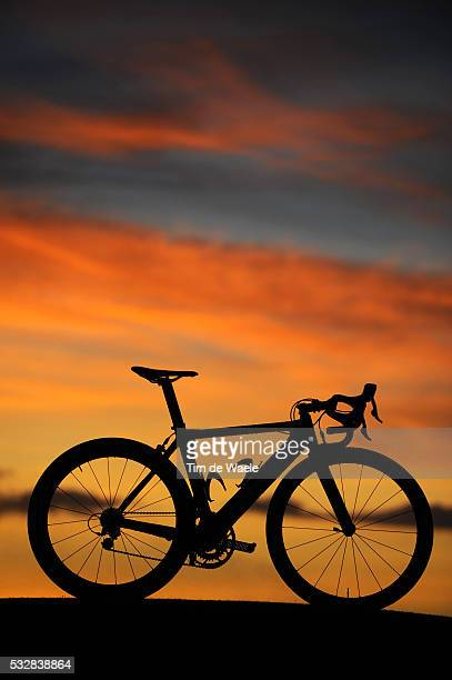 Cycling Cervelo Test Team 2009 / Training Illustration Illustratie / Bike Velo Fiets Cervelo / Silhouet / Entrainement / Equipe Ploeg / Tim De Waele