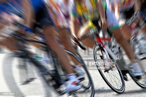 cycling competition. color image - cycling event stock pictures, royalty-free photos & images