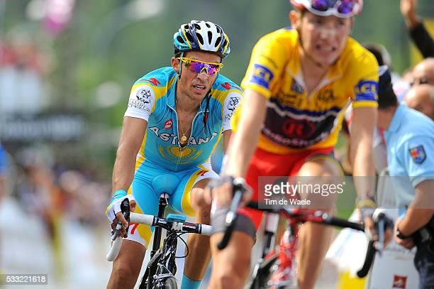 Criterium du Dauphine 2010 / Stage 4 Arrival / CONTADOR Alberto / BRAJKOVIC Janez Yellow Jersey / Saint-Paul-Trois-Chateaux - Risoul / Etape Rit /...
