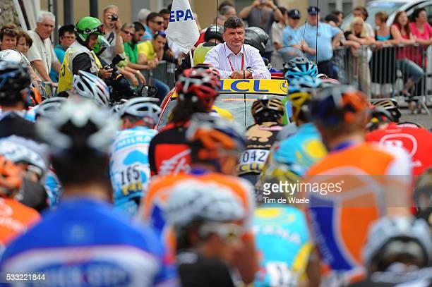 Criterium du Dauphine 2010 / Stage 4 Bernard THEVENET Race Director / Saint-Paul-Trois-Chateaux - Risoul / Etape Rit / Tim De Waele