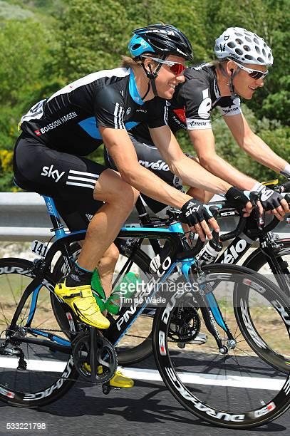 Criterium du Dauphine 2010 / Stage 4 BOASSON HAGEN Edvald / RASCH Gabriel / Saint-Paul-Trois-Chateaux - Risoul / Etape Rit / Tim De Waele