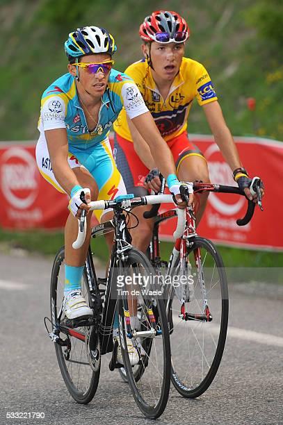 Criterium du Dauphine 2010 / Stage 4 CONTADOR Alberto / BRAJKOVIC Janez Yellow Jersey / Saint-Paul-Trois-Chateaux - Risoul / Etape Rit / Tim De Waele