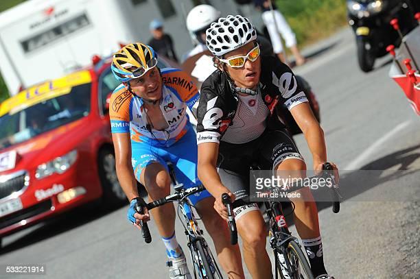 Criterium du Dauphine 2010 / Stage 4 DENIFL Stephan / PATE Danny / Saint-Paul-Trois-Chateaux - Risoul / Etape Rit / Tim De Waele