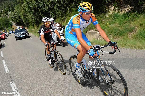 Criterium du Dauphine 2010 / Stage 4 PATE Danny / DENIFL Stephan / Saint-Paul-Trois-Chateaux - Risoul / Etape Rit / Tim De Waele