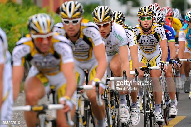 Criterium du Dauphine 2010 / Stage 7 Mark CAVENDISH Team HTC Columbia / Allevard-les-Bains - Sallanches / Etape Rit / Tim De Waele