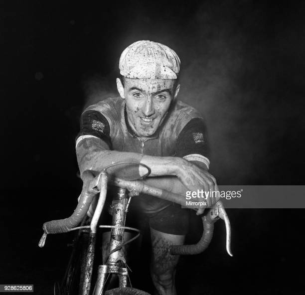 Cycling Cross Country Championship winner Paddy Hoban pauses for breath after crossing the finishing line Paddy Hoban was a member of the '34 Nomads...
