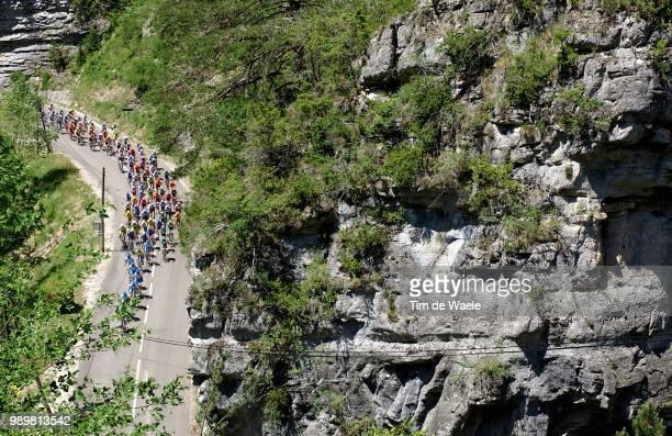 Dauphinã© Libã©Rã©, Stage 5Illustration Illustratie, Peleton Peloton, Landscape Paysage Landschap, Mountains Montagnes Bergenstage 5 :...