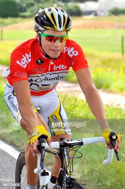 Eneco Tour 2009 Stage 3 Boasson Hagen Edvald Red Sprint Jersey Rode Trui Maillot Rouge /Niel Hasselt /Rit Etape Tim De Waele