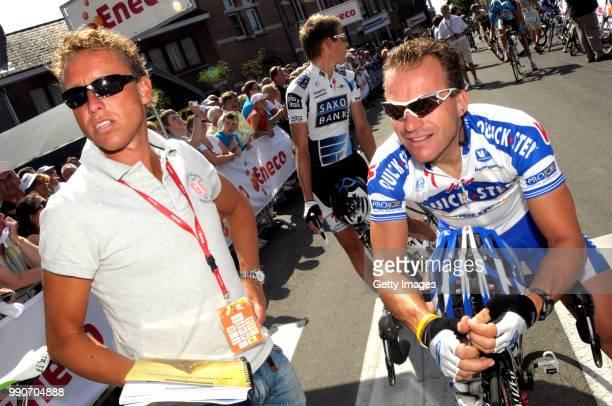Eneco Tour 2009 Stage 3 Boogerd Michael De Jongh Steven /Niel Hasselt /Rit Etape Tim De Waele