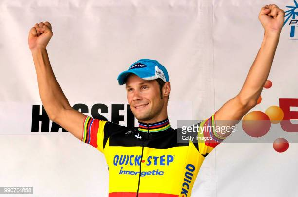 Eneco Tour 2009 Stage 3 Podium Boonen Tom Celebration Joie Vreugde Niel Hasselt /Rit Etape Tim De Waele