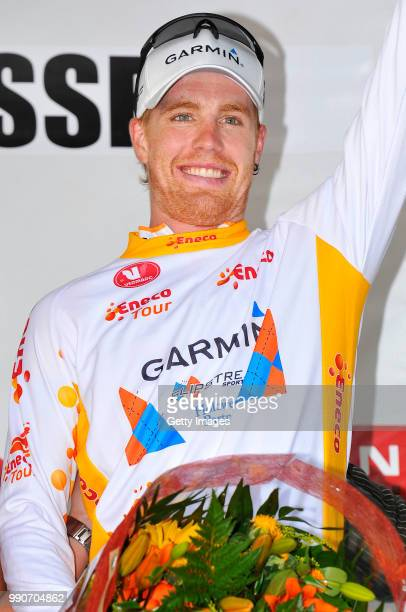 Eneco Tour 2009 Stage 3 Podium Farrar Tyler White Leader Jersey Celebration Joie Vreugde Niel Hasselt /Rit Etape Tim De Waele