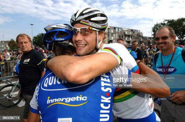 Eneco Tour, Stage 1Arrival, Tom Boonen Celebration Joie Vreugde, De Jongh Steven Wieringerwerf - Hoogeveen Etape Rituci Pro Tour, Tim De Waele
