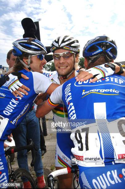Eneco Tour, Stage 1Arrival, Tom Boonen Celebration Joie Vreugde, Baguet Serge , Knaven Servais Wieringerwerf - Hoogeveen Etape Rituci Pro Tour, Tim...