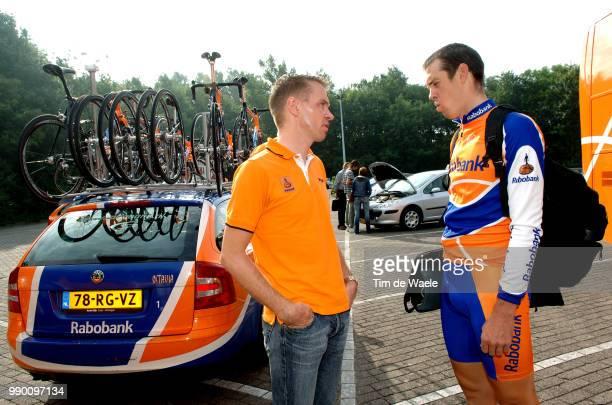 Eneco Tour, Stage 1Dekker Erik Sportsdirector Team Rabobank, Hayman Mathew Wieringerwerf - Hoogeveen Etape Rituci Pro Tour, Tim De Waele