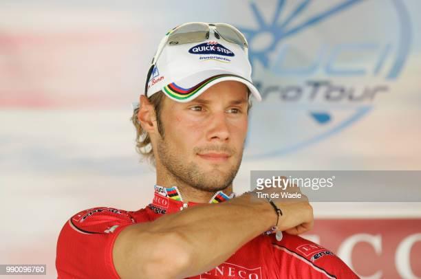 Eneco Tour, Stage 1Podium, Tom Boonen Red Leader Jersey, Celebration Joie Vreugdewieringerwerf - Hoogeveen Etape Rituci Pro Tour, Tim De Waele