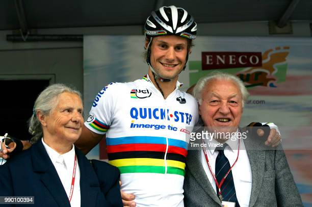 Eneco Tour Stage 5Podium Boonen Tom Luiza Ramond Boonen Hasselt Balen Uci Pro Tour Tim De Waele