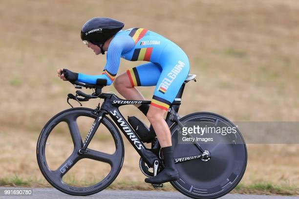 European Road Championships 2016, Elite Women'S Time Trial Ann Sophie Duyck /Plumelec - Plumelec //