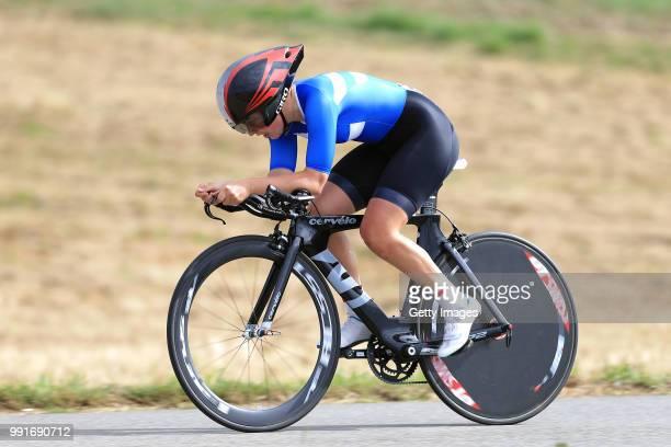 European Road Championships 2016, Elite Women'S Time Trial Antonia Grondahl /Plumelec - Plumelec //