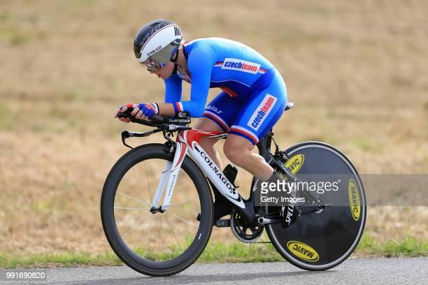 European Road Championships 2016, Elite Women'S Time Trial Jarmila Machacova /Plumelec - Plumelec //
