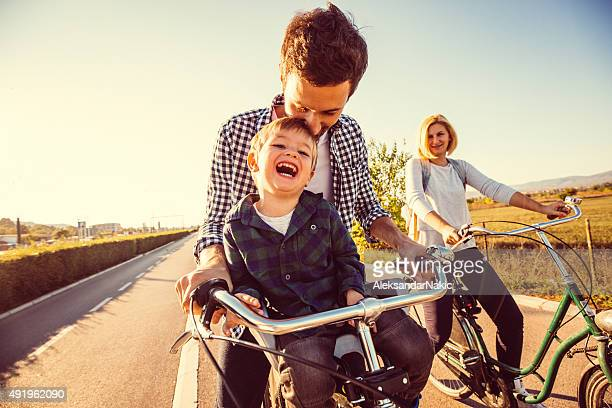 Cycling Familie