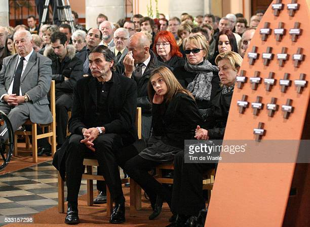 Cycling Frank Vandenbroucke Cameron Vandenbroucke Fille Dauchter Dochter / JeanJacques Vandenbroucke Father Pere Papa / ¡ / Funeral Begrafenis...