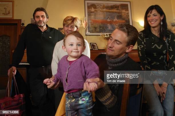Frank Vandenbroucke Privã© /Margaux Sarah Fille Daughter Dochter Parents Ouders /Ouders Parents Father Mother