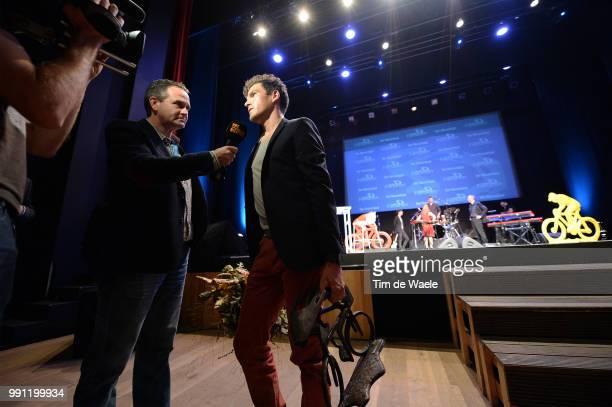 Gala Flandrien 2013Greg Van Avermaet Celebration Joie Vreugde Trophee Trofee Flanshow /Tim De Waele